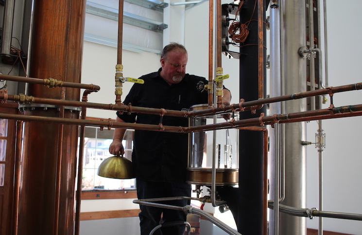 Frey Ranch Distiller Russell Wedlake