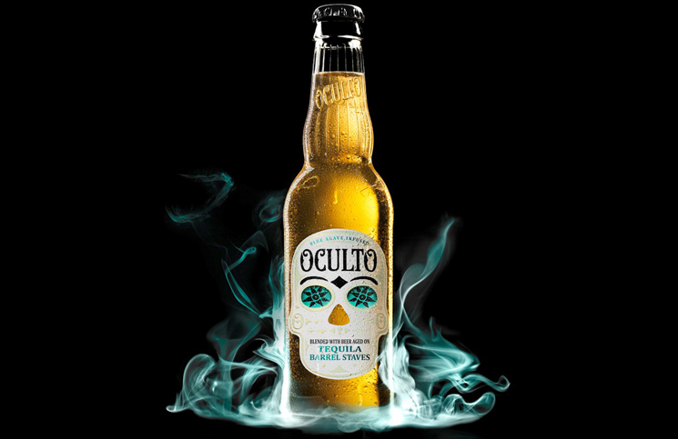 Oculto Tequila Inspired Beer Drink Spirits