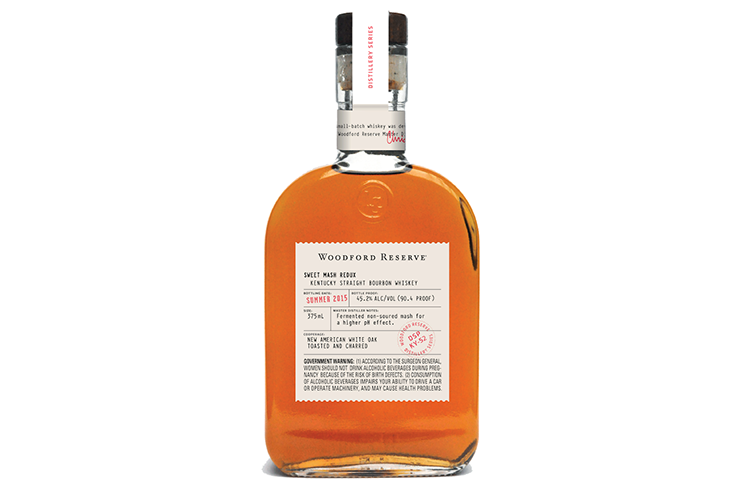 Woodford Reserve Distillery Series Sweet Mash Redux Kentucky Straight Bourbon Whiskey