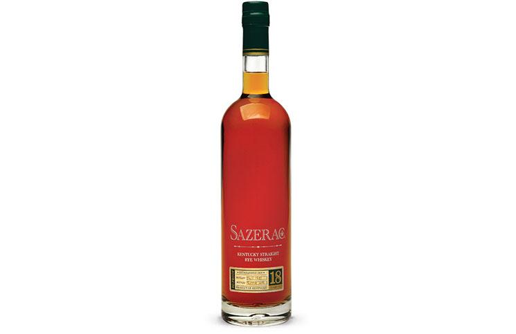 Sazerac 18 Year Old Rye Whiskey