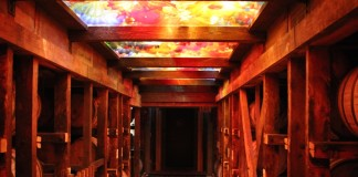 Stunning Chihuly Installation at Makers Mark