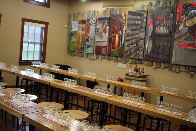 Maker's Mark Tasting Room