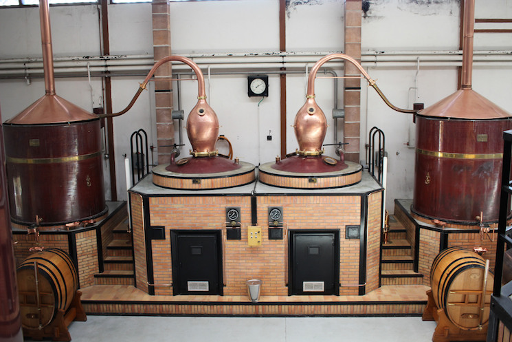 Charente Stills at Grand Armagnac Janneau