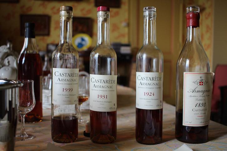 Vintage Armagnac at Castarede Armagnac